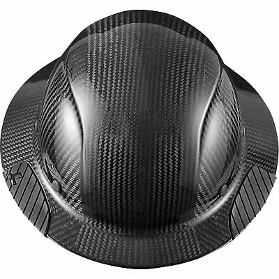 Lift Safety Hdc-15kg Dax Carbon Fiber Full Brim Hard Hat Black