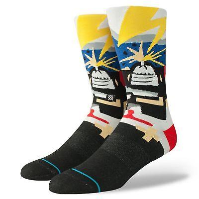 Haltung Socken Neu Herren Supertouch Mannschafts Socken - Schwarz BNWT