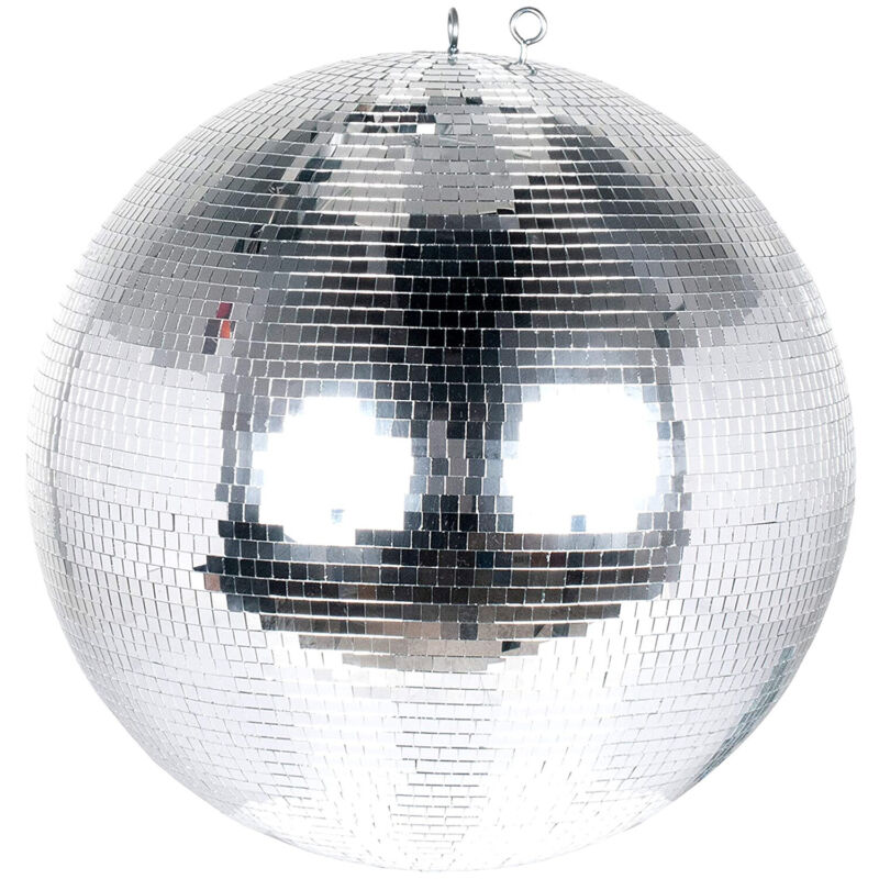 Eliminator Lighting Mirror Disco Ball for Parties, 16 Inch Diameter (Open Box)
