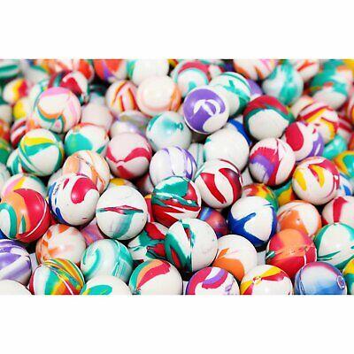 Totem World 250 Bouncy Balls - 27mm Assorted Swirl Bounce Balls - Bulk Pack... - Bouncy Balls Bulk