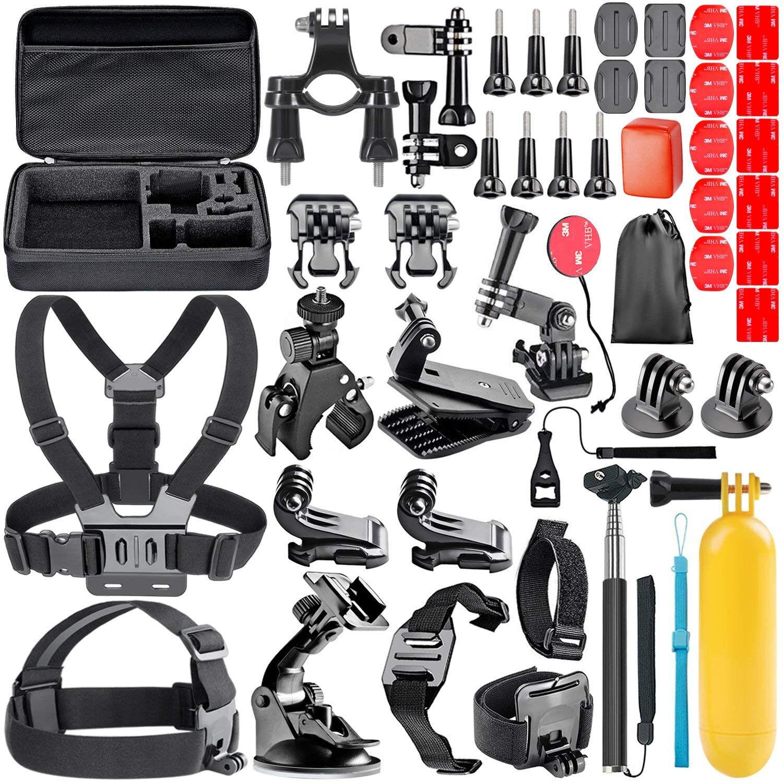 GoPro Hero 7 White Accessories Kit For GoPro Hero 7 6 5 Blac