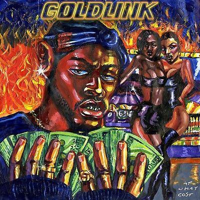 GOLDLINK - AT WHAT COST 2 VINYL LP NEW+