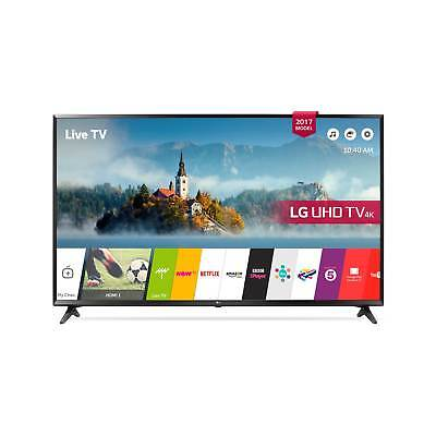 LG 49UJ630V- 49inch 4K UltraHD HDR Smart LED TV in Black 3840 x 2160 Freeview HD