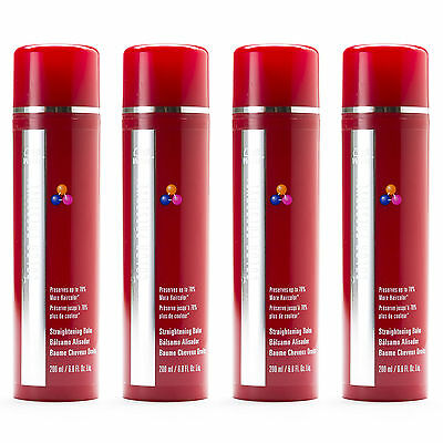 LOT of 4 - WELLA Color Preserve, Straightening Balm 6.8 oz, Frizz Control, NEW