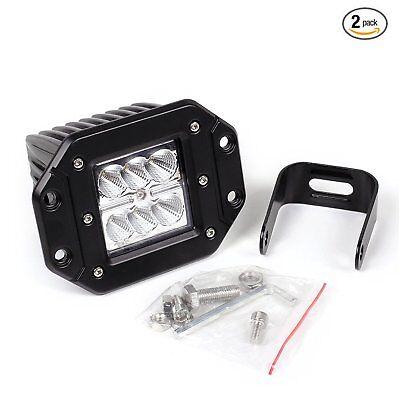 Light Bar Replacement Spotlight (1x24W LED Flood Spot Lights Bar for Headlight fog light off road hunting out)