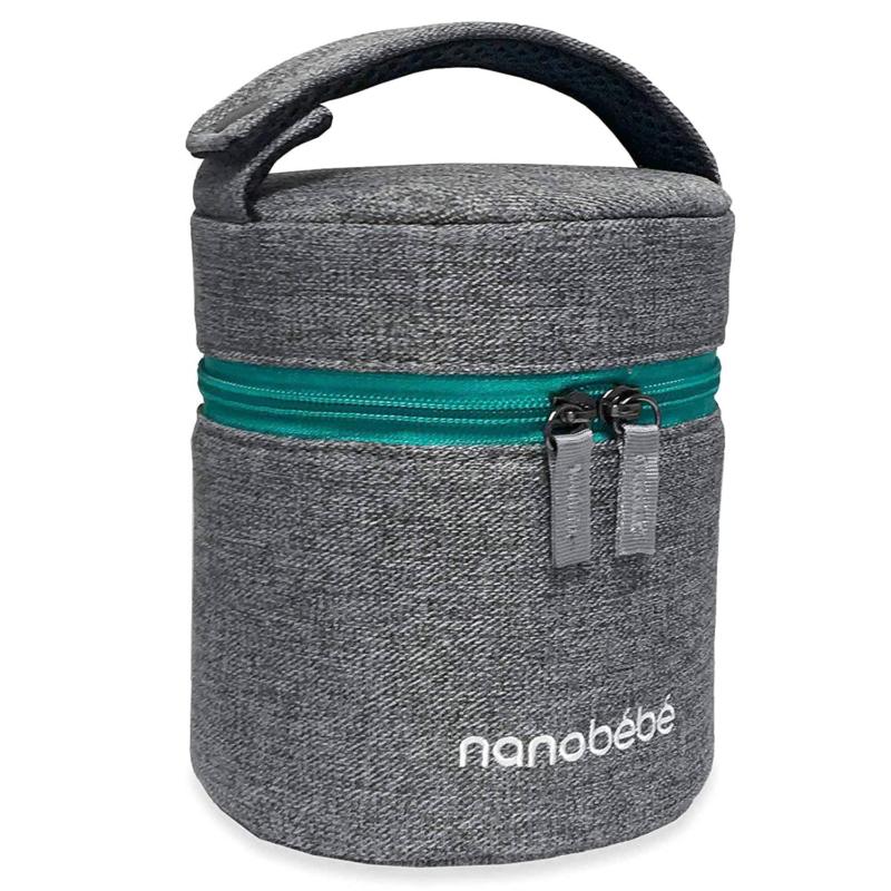 nanobebe breastmilk baby bottle cooler travel bag