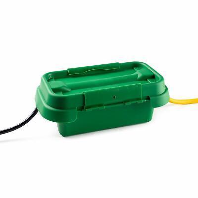 Sockit Box Mg Weatherproof Power Cord Connection Box 285 Green