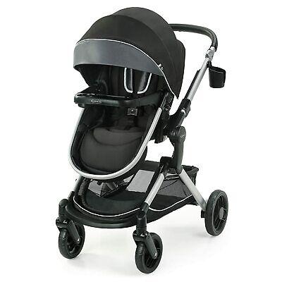 Graco Modes Nest Baby Stroller Height Adjustable Reversible Seat - Spencer