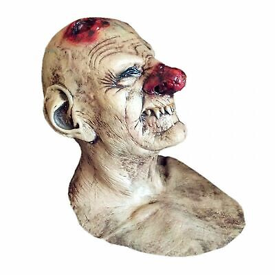 Bloody Old Joker Hood Halloween Costume Scary Clown Mask For Cosplay Party New - Scary Clown Costumes For Halloween