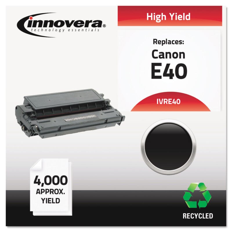 Innovera Remanufactured 1491A002AA (E40) High-Yield Toner Black