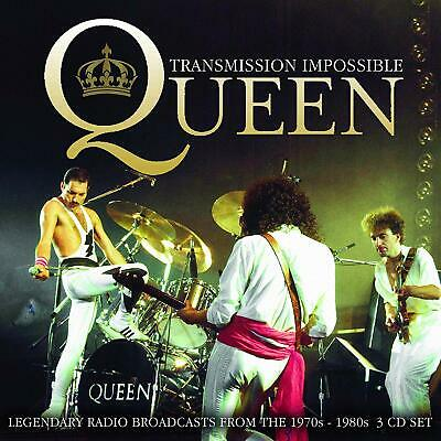 QUEEN - TRANSMISSION IMPOSSIBLE 3 CD ALBUM SET NEW PHD (13TH MARCH)
