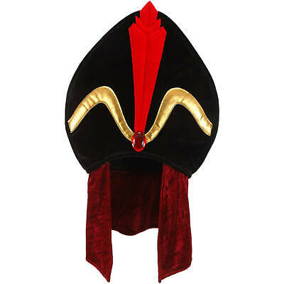 Disney Costumes Boys (Disney Alladin Villains - Jafar Plush Hat - Costume Accessory-)