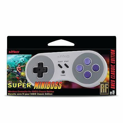 Controller Retail Box (NYKO Super Miniboss Wireless Controller (SNES Classic Edition) NEW *Retail)