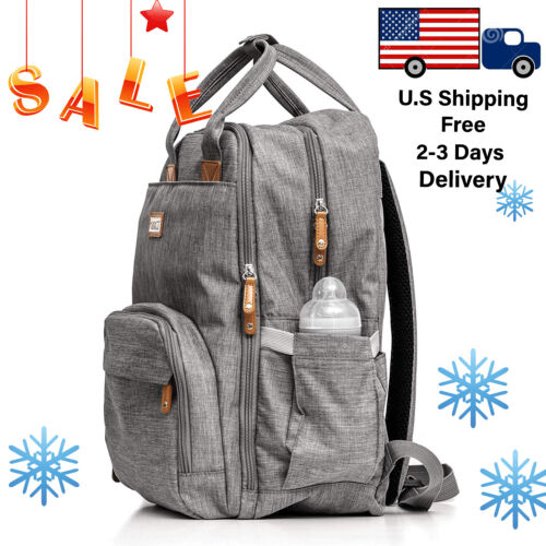 Diaper bag backpack Baby Travel waterproof large pack mummy baby Milanico