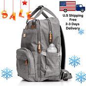 Diaper bag backpack Baby Travel waterproof large pack mummy baby Milanico