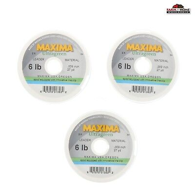 Fly Fishing Leader Bite Material 120# 27 yards 82 ft  Fluorocarbon