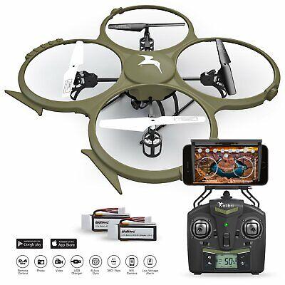 Development Delta-Recon U818A WiFi FPV Quadcopter Drone Politic Edition Military