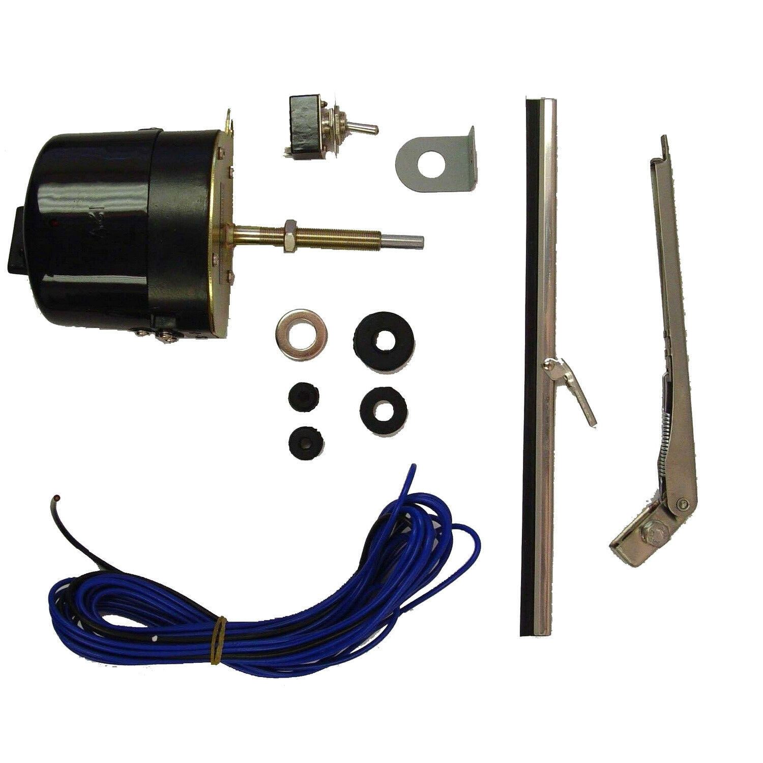 Wiper Motor Kit 12v For Jeep Willys Cj3b Cj5 Cj6 Universal