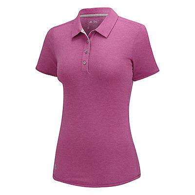 Adidas Mujer Essentials Heather Polo (S) B83156 Flash Rojo