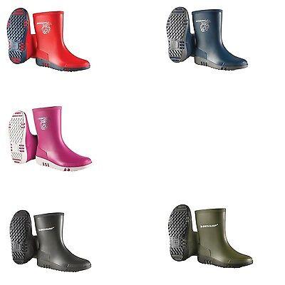 Nuovo Dunlop stivali in gomma per bambini