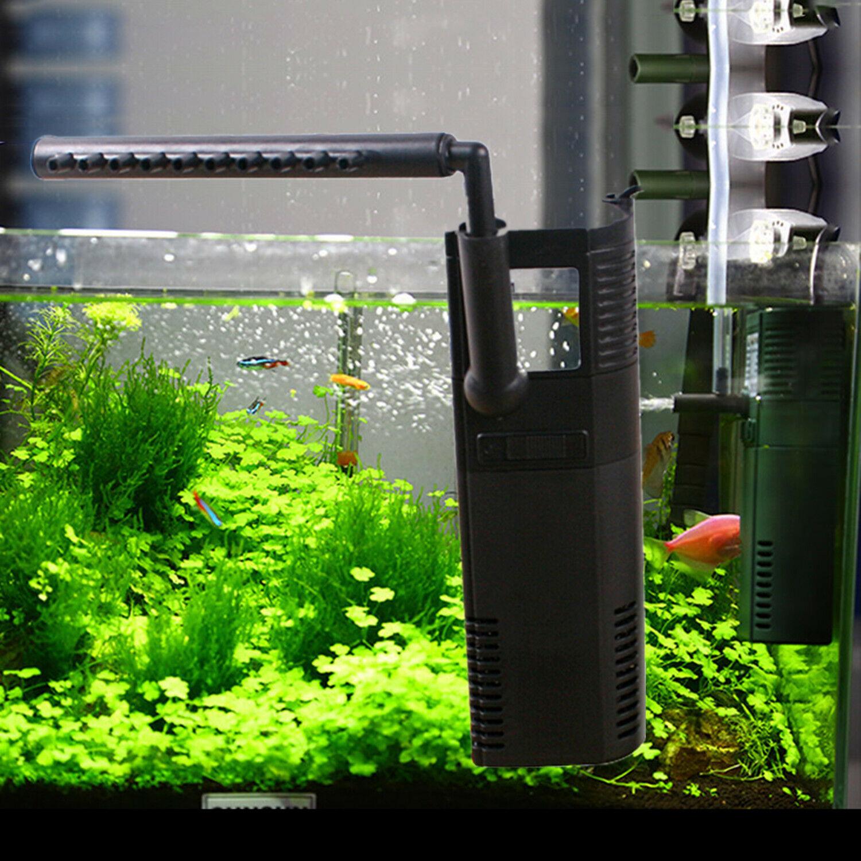 6W 450L/h Aquarium Innenfilter Aquarium Pumpe für Aquarium bis 60 Liter Filter *