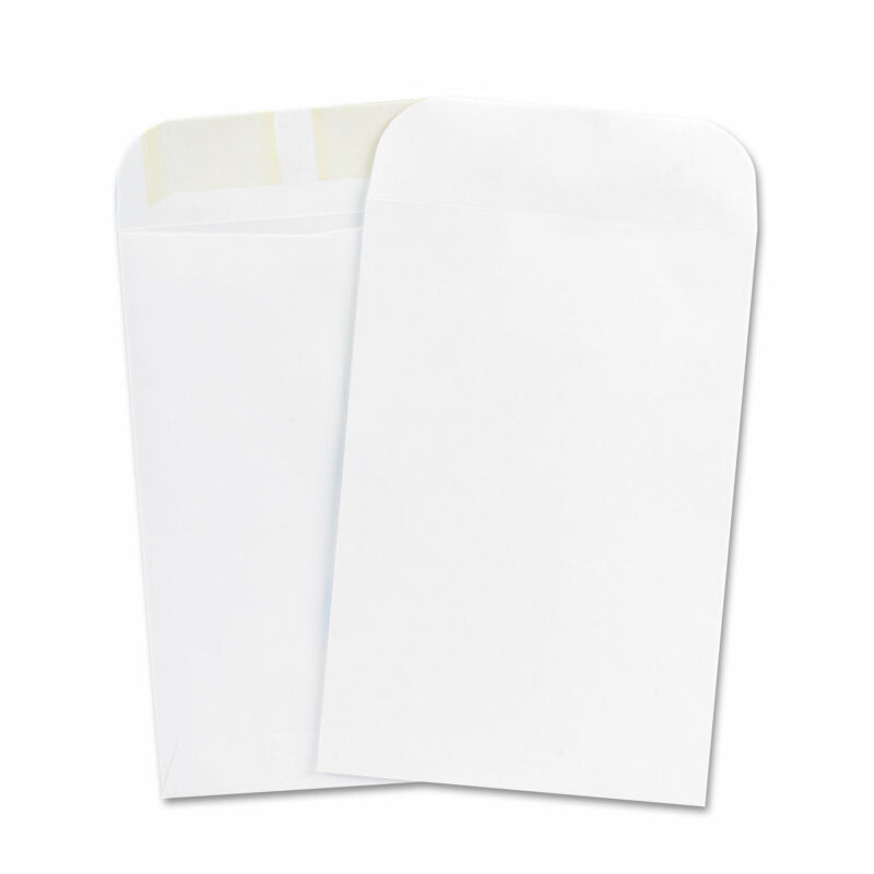 UNIVERSAL Catalog Envelope Center Seam 6 1/2 x 9 1/2 White 500/Box 40104