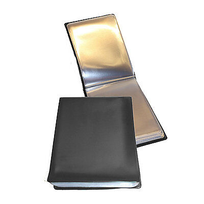 Brand New BLACK  A6 40 Page Deluxe Nirex Nyrex Folder ( 80 sides high quality