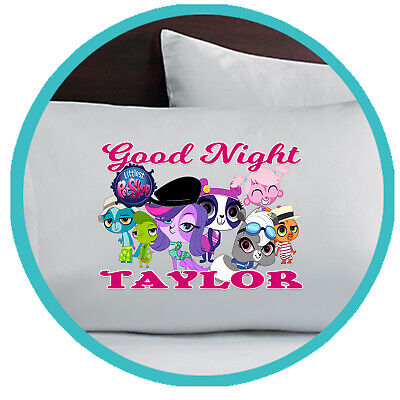 The Littlest Pet Shop Pillowcase Pillow Case Gift Gifts Bedding Bedroom Sheets - Littlest Pet Shop Sheets