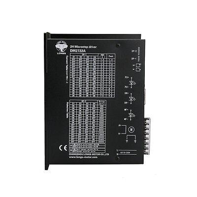Stepper Motor Driver Dm2722a 300microsteps 7a 110-220vac Input Nema42 Cnc Kit