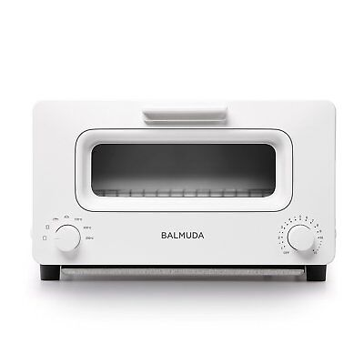 BALMUDA Steam Oven Toaster  K01E-WS White Japan New Free Shipping Fast Shipping