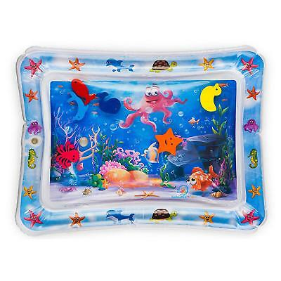 Water Play Mat for Kids Baby Fun Large Sea Toy Animals Fish Inside