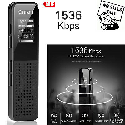 Voice Activated Digital Listening Device / Audio Bug 8GB