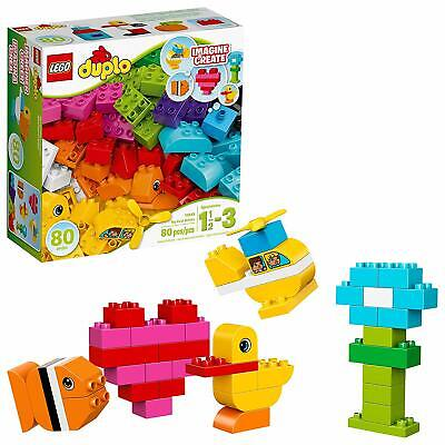 LEGO Duplo My First Bricks 10848 Colorful Toys Building Kit for Toddler Play and