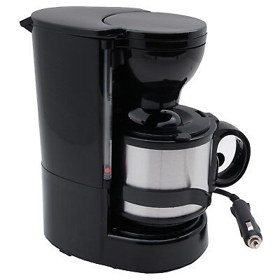 24V Filter Kaffeemaschine Isolierkanne Automat Fernfahrer 24 Volt LKW Camping