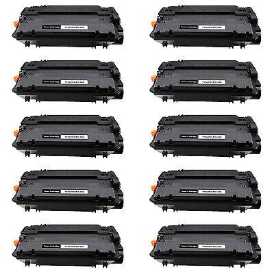 10x CE255X 55X For HP LaserJet Enterprise 500 MFP M525f Toner Cartridge US Ship