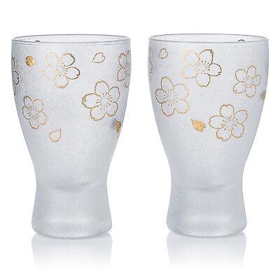 (Sakura Premium Japanese Glass Sake Set)