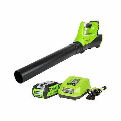 Greenworks 40V 115 MPH - 430 CFM Cordless Brushless Blower,