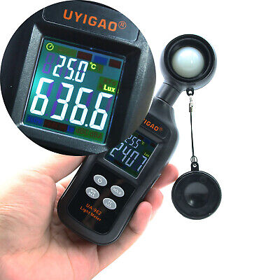 Ua962 Handheld Digital Mini Light Meters Lux Fc Meter Luminometer Photometer