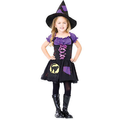 Enchanted Costumes Girls Witch Child Halloween Costume, Dress-Up, Play, Theatre