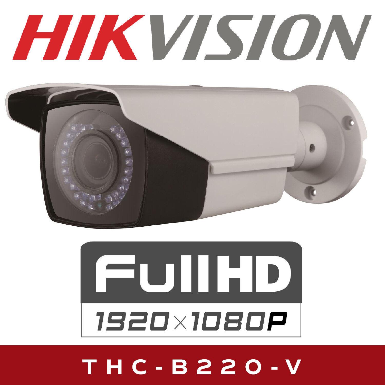 Hikvision HiWatch THC B220 V Bullet Camera with 2.8-12mm Varifocal Bullet HD