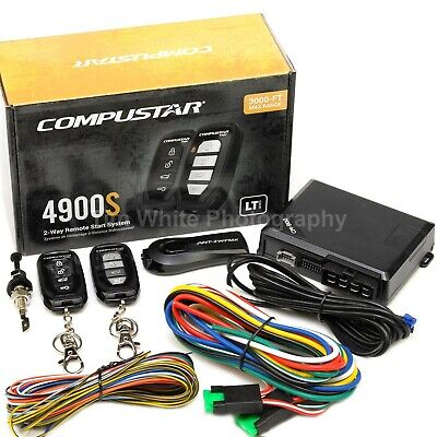 Compustar CS4900-S 2-way Remote Start and Keyless Entry System with 3000ft Range