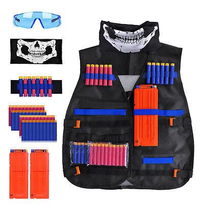 Tactical vest suit/Children tactical pockets For Nerf Guns N-Strike Elite Series