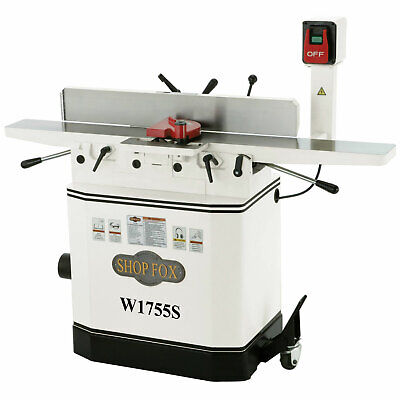 Shop Fox W1755s 6-inch 110v220v 1-12 Hp Jointer With Spiral Cutterhead