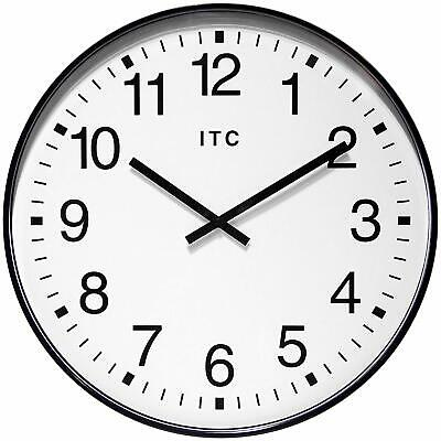 Infinity Instruments 90/0019-1 Oversize 19-Inch Wall Clock, Black White (Used)