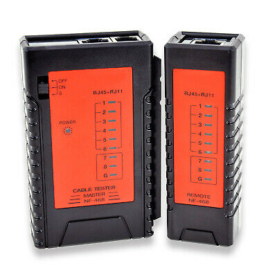 Noyafa Nf-468 Cable Tester For F-type Coaxial Bnc Rj11 Rj45 Ethernet Cables