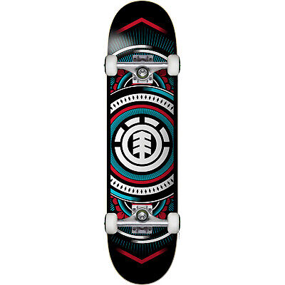 "Element Skateboards Hatched Complete Skateboard - 7.7"" x 31.25"""