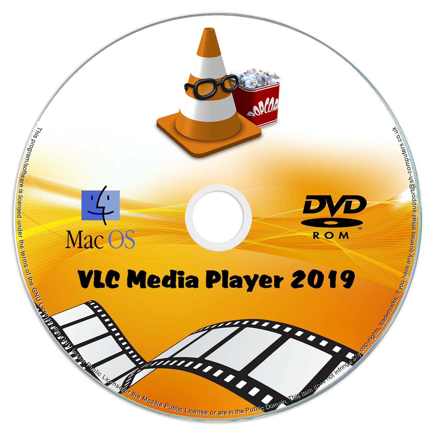 VLC Media Player 2019 SOFTWARE - Play Any Video / DVD / Music / Audio MacOS