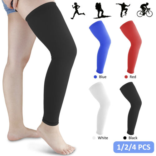 Men Women Thigh High Compression Calf Sleeve Stockings Leg Support Pain Relief