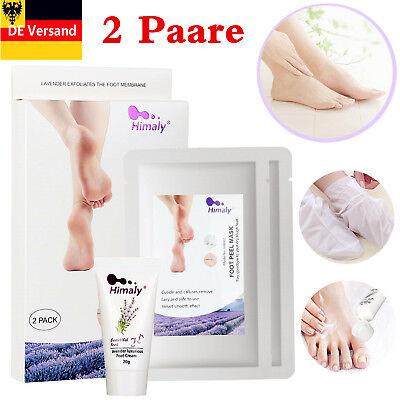 Harte Haut Füße (4X Fußmasken Fußpflege Peeling Baby Weich Füße Entfernen Hornhaut Hart Tote Haut)