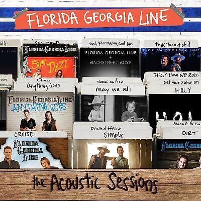 Florida Georgia Line ACOUSTIC SESSIONS Best Of 17 Songs GATEFOLD New Vinyl 2